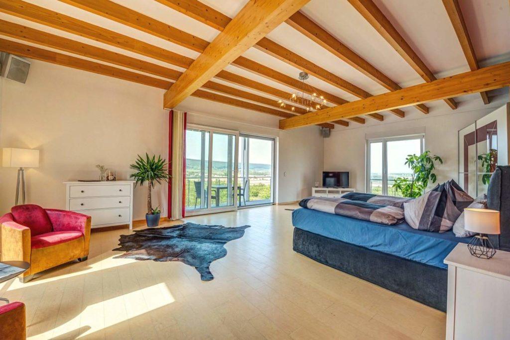 Blick Balkon Suite